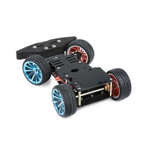4-wheel car chassis